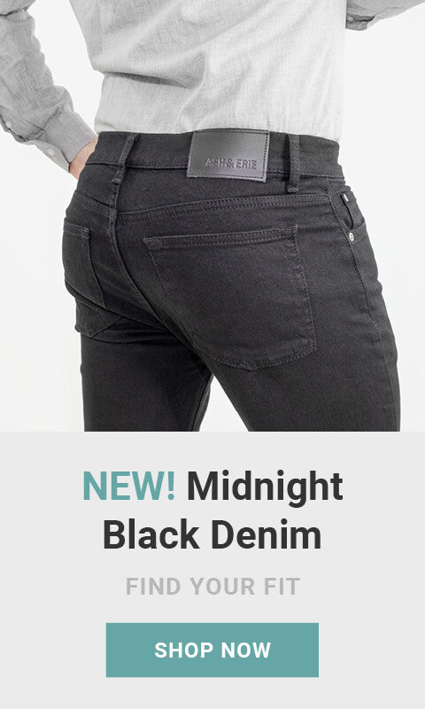 New! Midnight Black Denim. Made for men of great heights, shorter guy clothes. Shop now. As seen on Shark Tank!