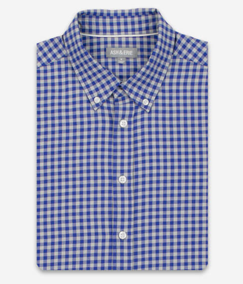 Blue Timber Gingham Everyday Shirt
