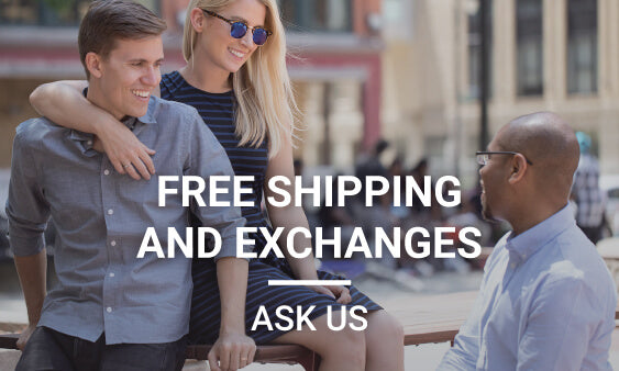 Free Exchanges and Returns - Ask Us