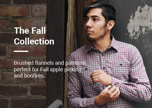 Brushed flannels and patterns perfect for Fall apple picking and bonfires.