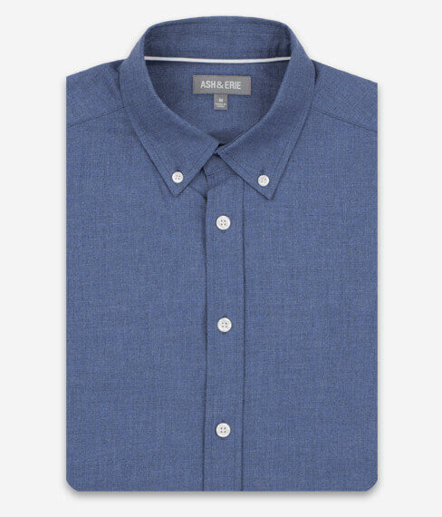 Heather Cobalt Blue Everyday Shirt