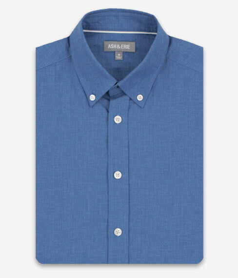 Heather Slate Blue Everyday Shirt