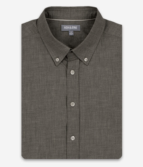 Heather Slate Grey Everyday Shirt