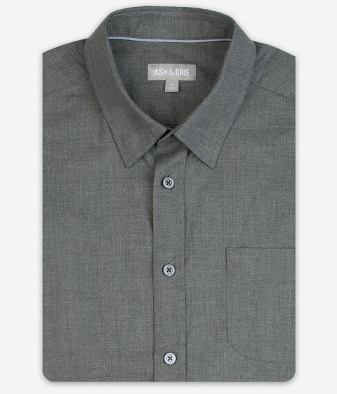 Muted Carbon Wrinkle Free Eveyday Shirt