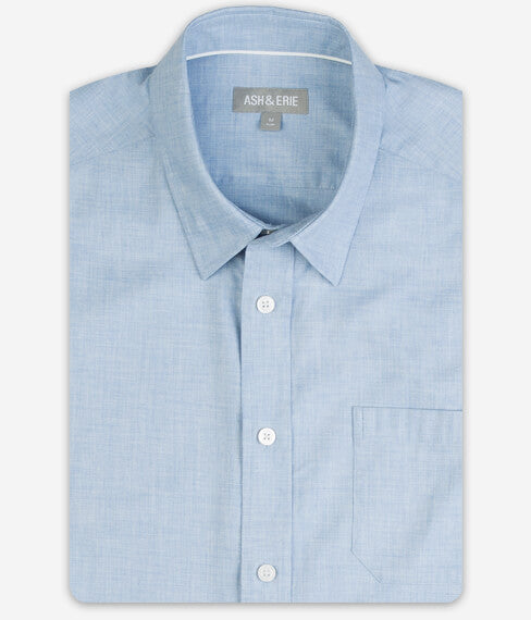Muted Steel Wrinkle Free Everyday Shirt