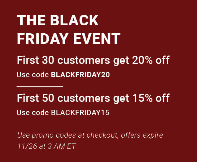 Which Black Friday offer will you get? Hurry and CHECK OUT NOW!