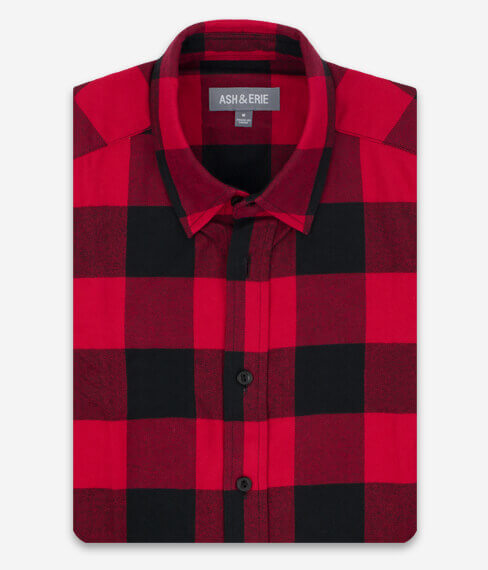 Red Falls Check Everyday Shirt
