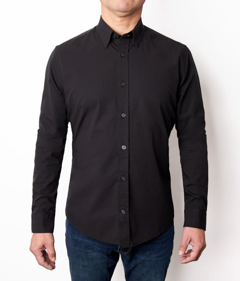 Black Stretch Shirt