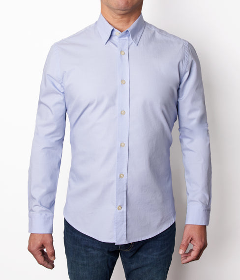 Blue Stretch Shirt