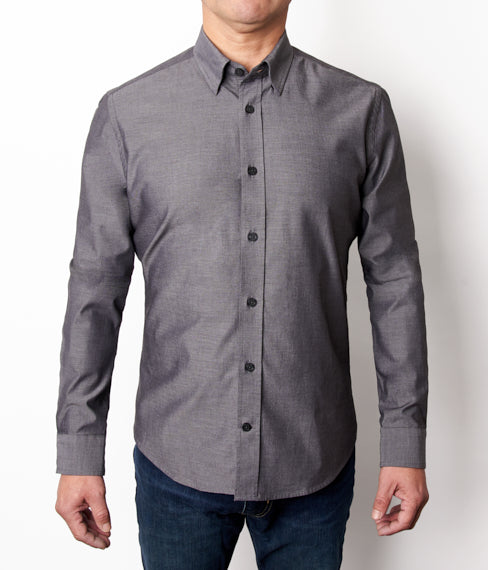 Charcoal Stretch Shirt