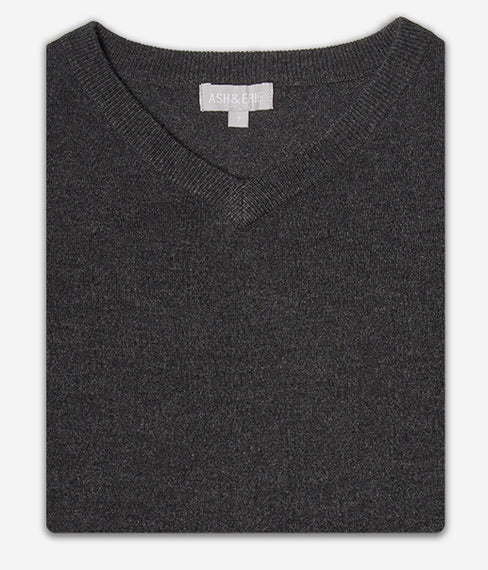 The Merino Wool Sweaters - Charcoal