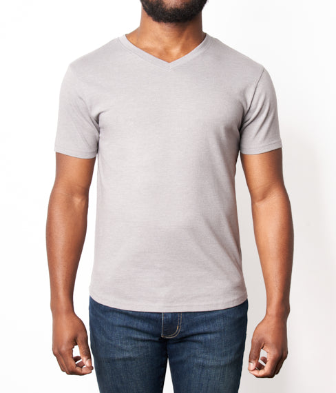 Heather Ash Grey Tee