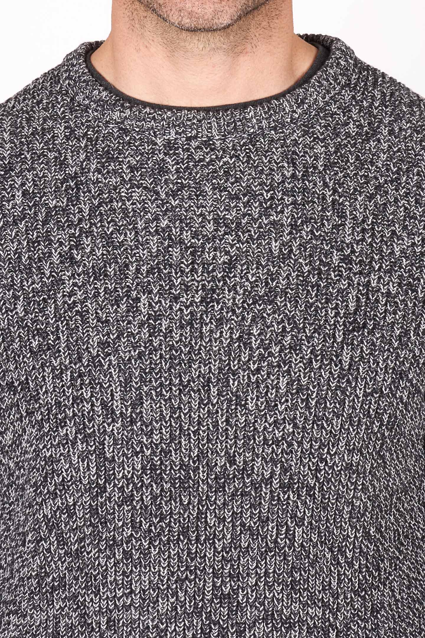 Buy Fog Grey Knit Sweater for Short Men | Ash & Erie   Sweaters