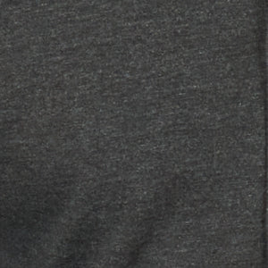 Heather Charcoal T-Shirt Button Down