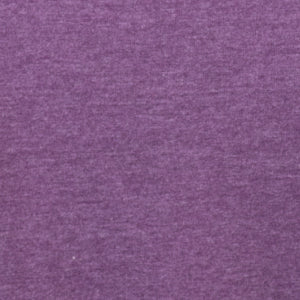 Heather Purple Crew Neck Tee