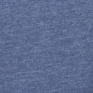 Heather Storm Blue V-Crew Neck