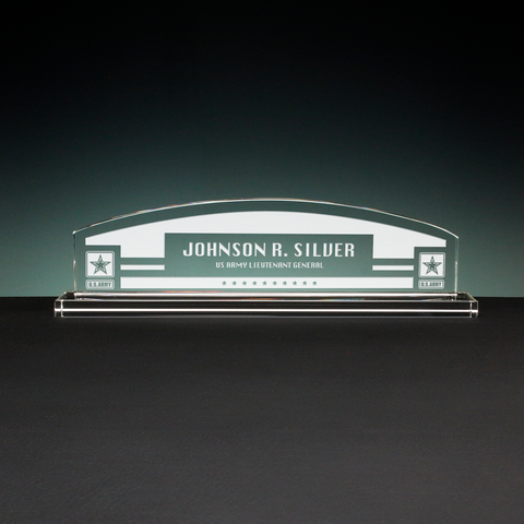 Arch Nameplate