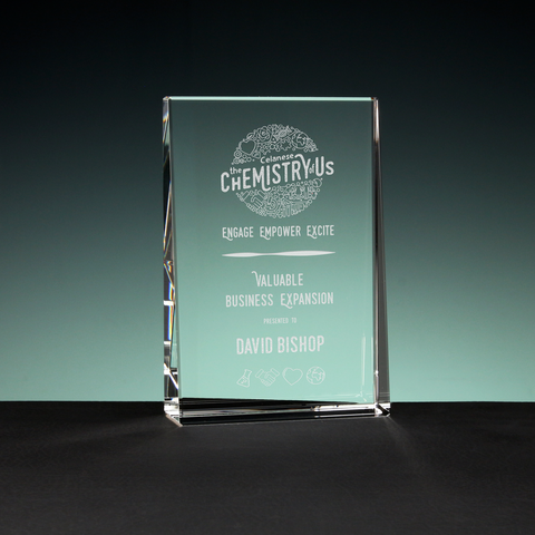 Flat Glass Glassical Designs Crystal Awards And Trophies