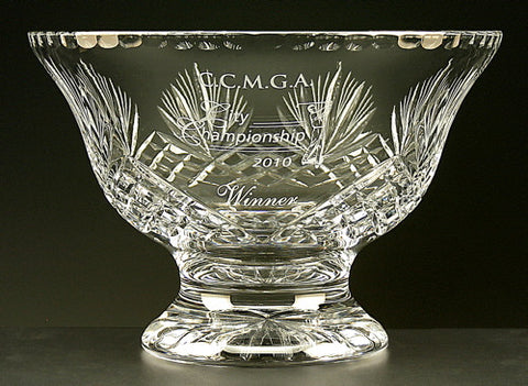 Durham Pedestal Bowl - Glassical Designs - 1