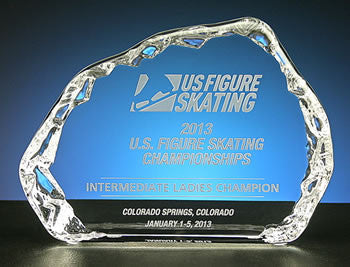 US Figure Skating - Gradient Horizontal - Glassical Designs