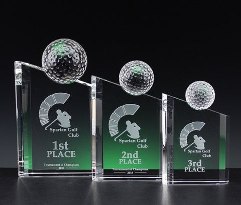Premier Golf Award - Glassical Designs