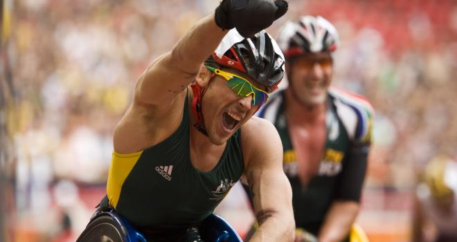 Kurt Fearnley Gives Life A Good Name