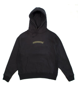 MIDWEIGHT LOGO HOODY BLACK/OLIVE