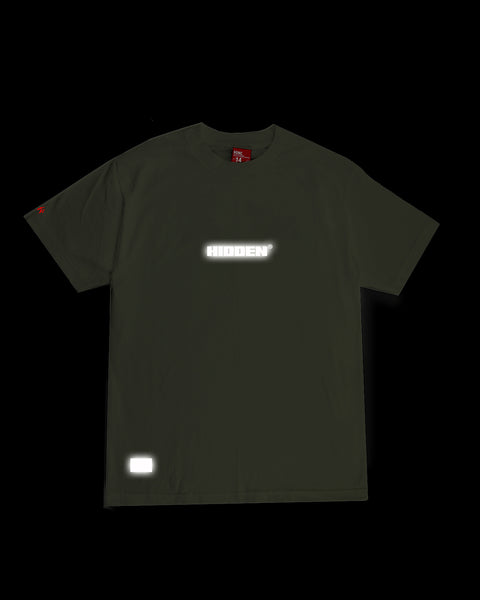 MILITARY GREEN LOGO TSHIRT