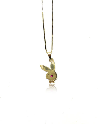 14K SOLID GOLD PLAYBOI PIKACHU