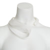 Thick Folded Loop Neck