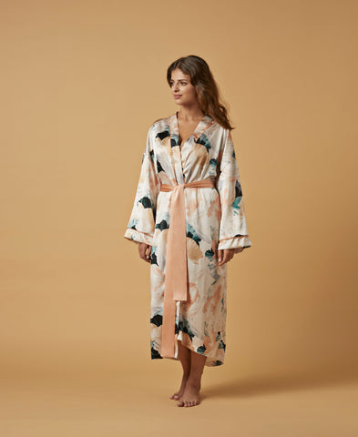 Nui Ami | Kyoto Silk Robe | Luxurious Loungewear Responsibly Made in the UK