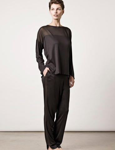 London Pyjama Midnight Black