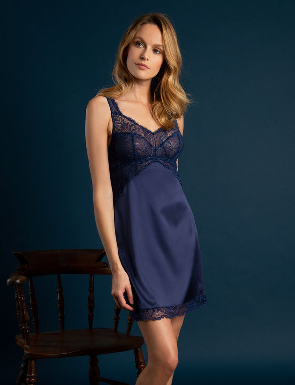 Navy Cup Size Nightdress