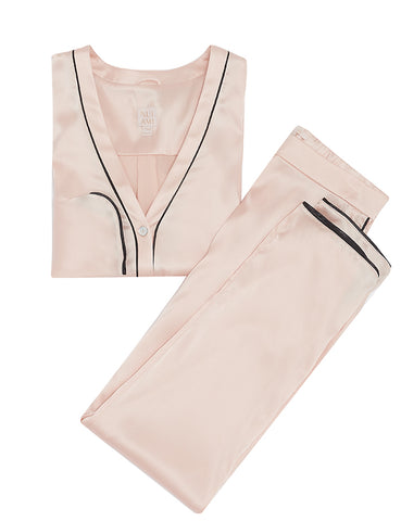 Paris Luxury Silk Pyjama Set