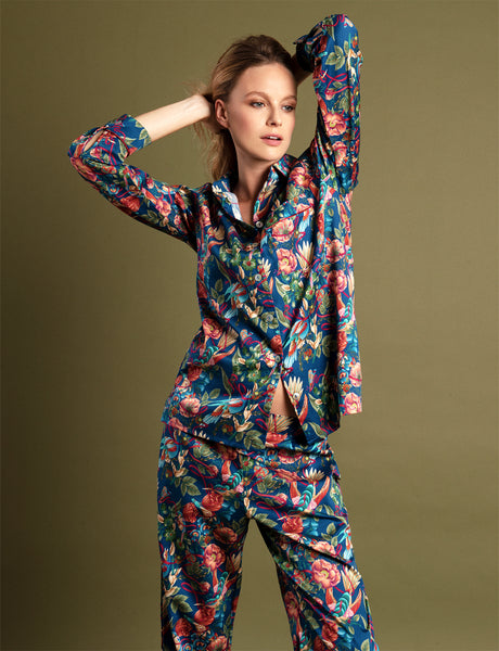 Pure Cotton Print Ladies Pyjamas