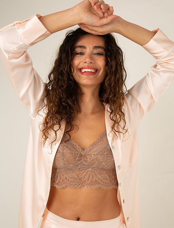 Nui Ami Lace Sleep Bralette