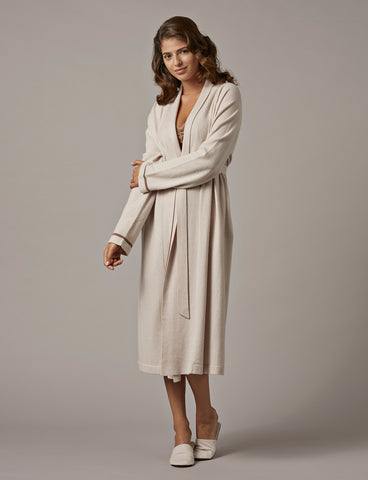 Nui Ami Paris Cashmere Robe & Slippers