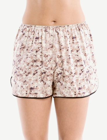 Paris Print Shorts, front