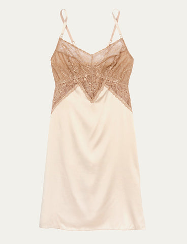 Venice Chemise Champagne and Gold
