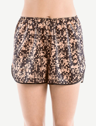 Venice Print Shorts, front