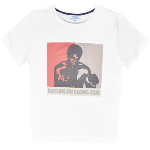 Tee-Shirt Battling Joe Ali Vintage (fabriqué En France)