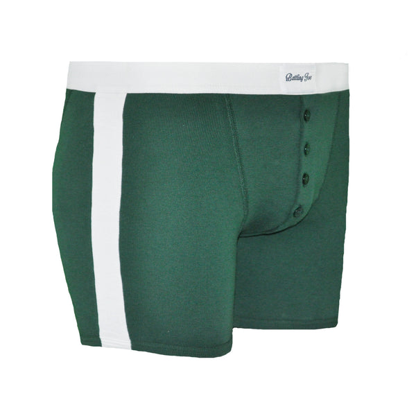 Boxer vert Made in France 100% coton - Rocky