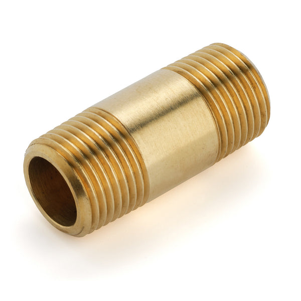 560-08 Borit 3/8 inch Threaded Brass Nipple