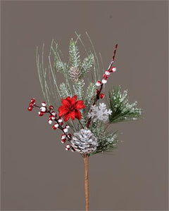 "15""Frosted Evergreen Stem - Urbanlux"
