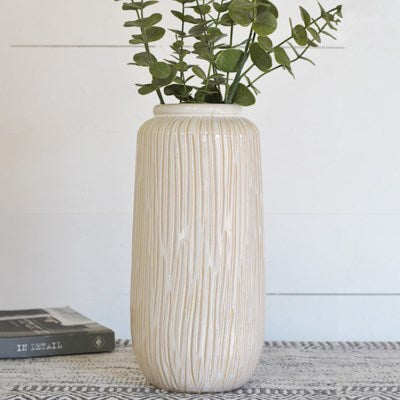 "13"" Stripe Pattern Vase"