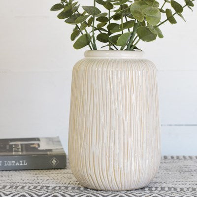 "9"" Stripe Pattern Vase"