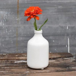 "6"" White Bottle - Urbanlux"