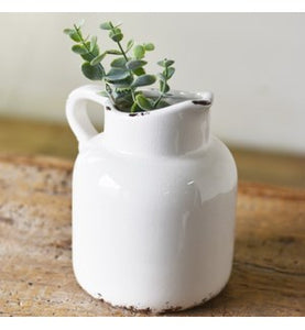 White Jar Pitcher - Urbanlux