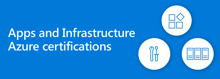 Apps and InfrastructureAzure certifications