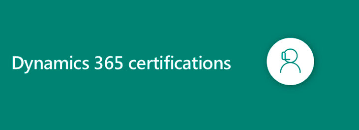 Dynamics 365 certifications